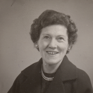 Lorna Arnold in early 1960s