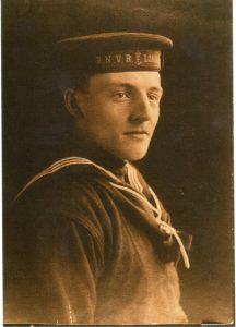 Father – Ken Rainbow in his RNVR uniform.