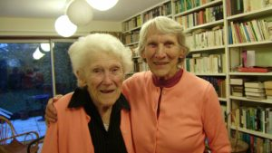 Lorna Arnold and her sister Ruth Smith