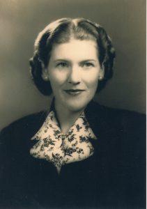 Lorna in Washington DC, 1947