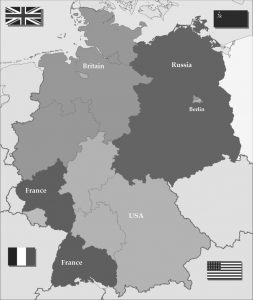 Administration Zones of Germany after WWII