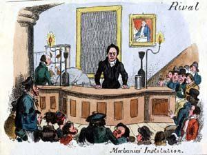 Lecture at Glasgow Mechanics Institute, 1825 The workingman's school